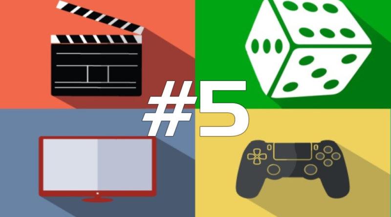 168 hodín vo svete filmov, seriálov, spoločenských hier a videohier #5