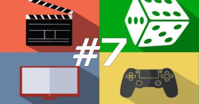 168 hodín vo svete filmov, seriálov, spoločenských hier a videohier #7