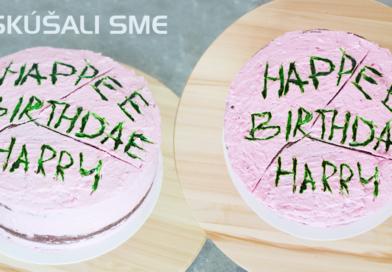 Vyskúšali sme – Harryho narodeninová torta