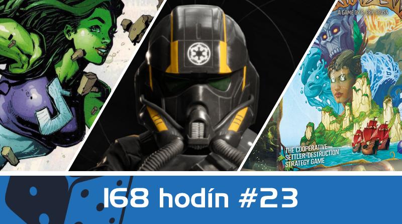 168 hodín vo svete filmov seriálov, spoločenských hier a videohier #23