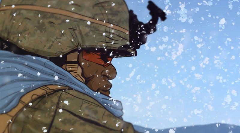 Battle Born: Lapis Lazuli – Grafický román o človeku a o konflikte civilizácií v Afganistane