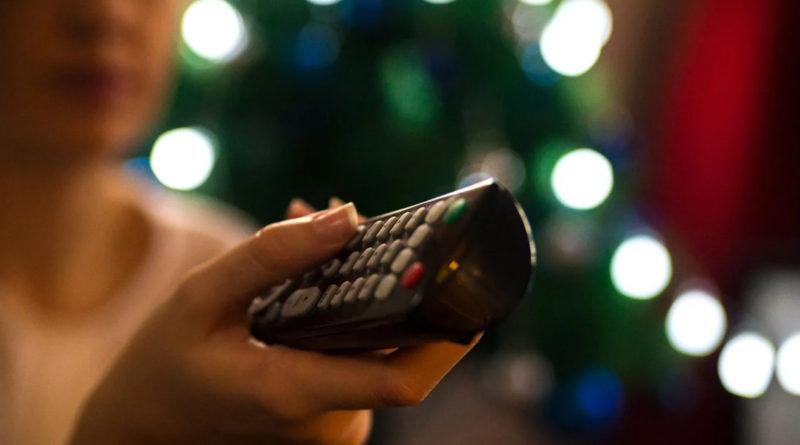 Vianoce - sledovanie televízie