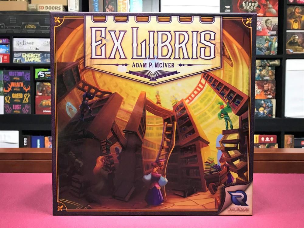 Ex Libris je ideálna hra pre knihomoľov a maniakov do spoločenských hier v jednom (Foto: hesaidshesaidgames.com)