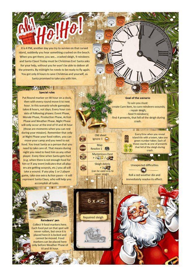 Vianočný scenár ku kooperatívnej hre vás naladí na blížiace sa sviatky (Foto: FB / Portal Publishing)