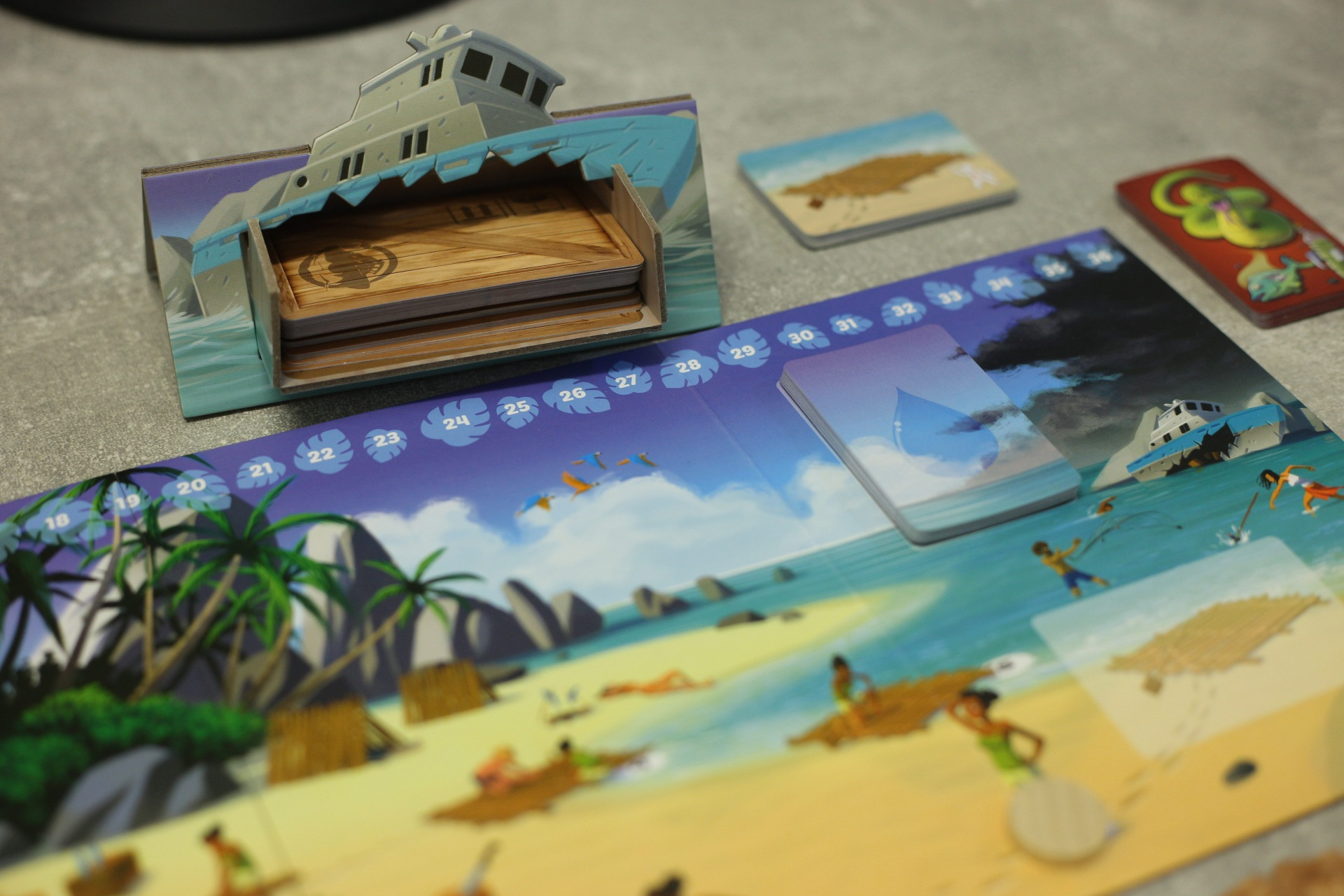 Vrak lode, ktorý môžete prehľadať, skrýva rôzne predmety (Foto: PoP-Cult Magazín)