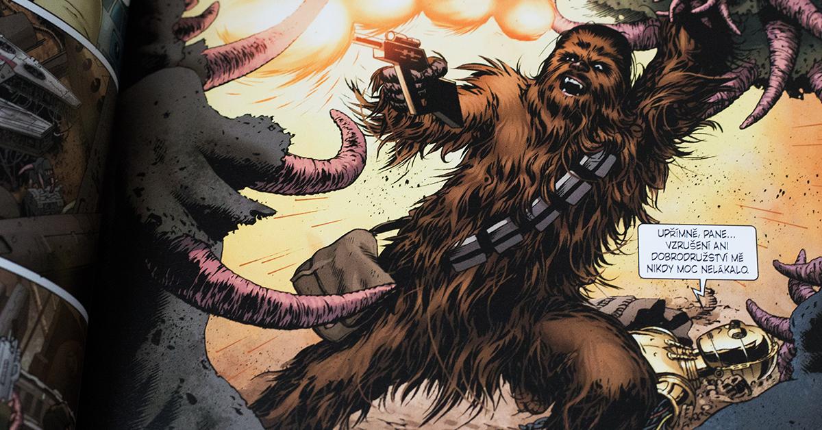 Nikdy nechcite stretnúť nahnevaného Wookieeho (Foto: PoP-Cult Magazín)