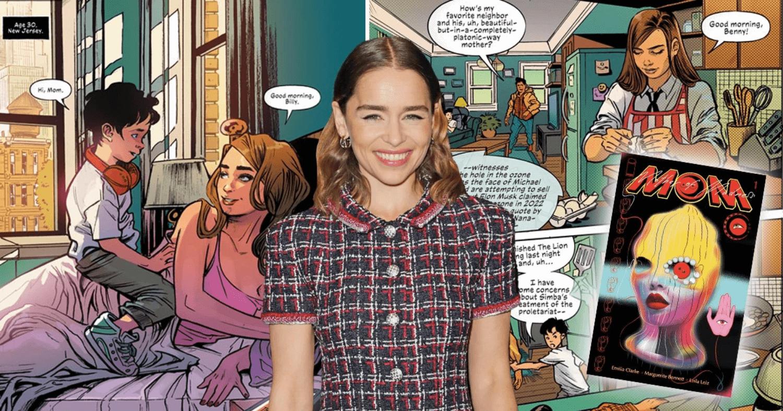 Emilia Clarke komiks