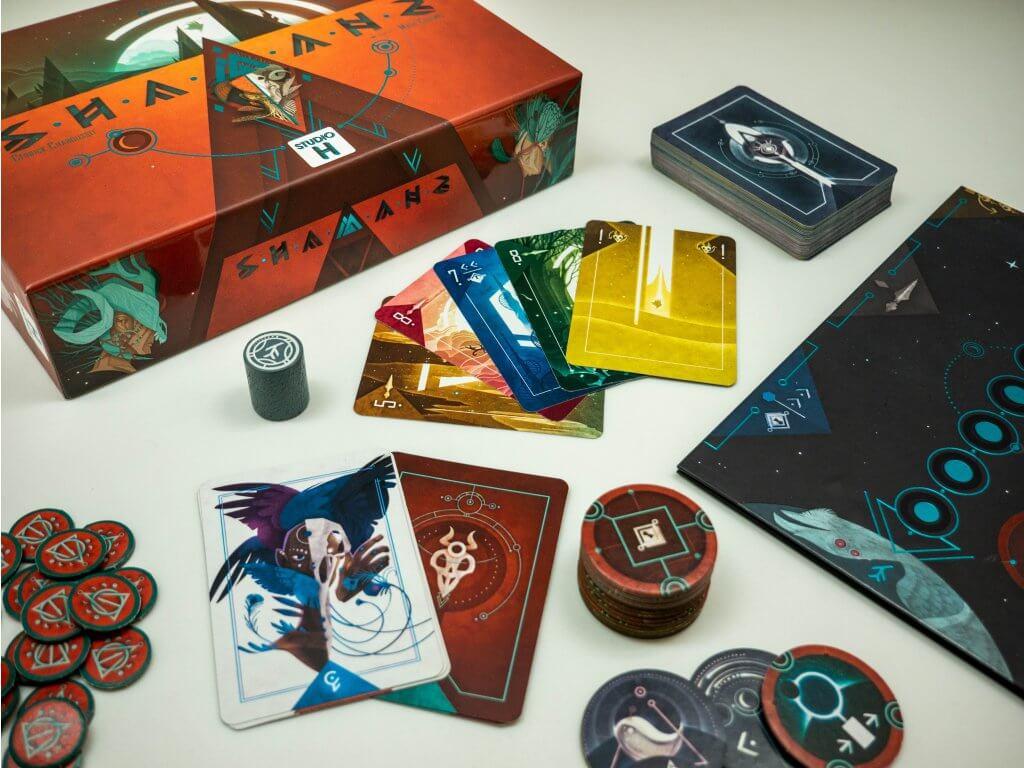 Prekrásny dizajn hry Shamans zaujme na prvý pohľad (Foto: Tlama Games)