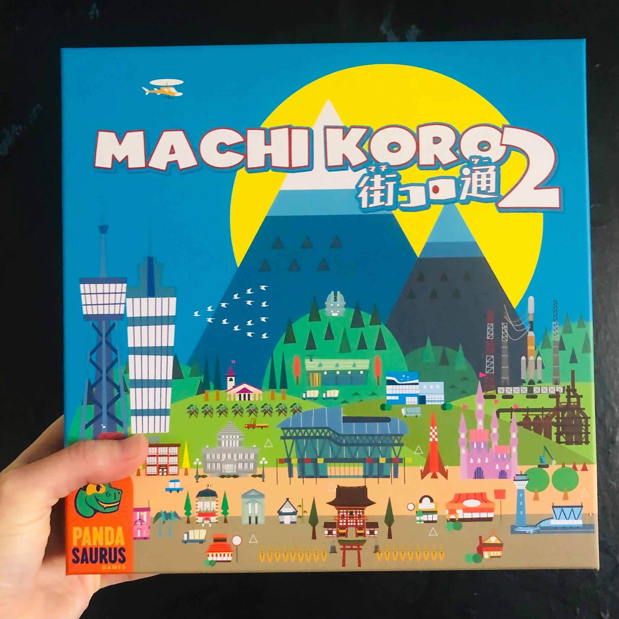 Pokračovanie hry Machi Koro sa momentálne skúša na Gen Cone (Foto: FB / Pandasaurus Games)